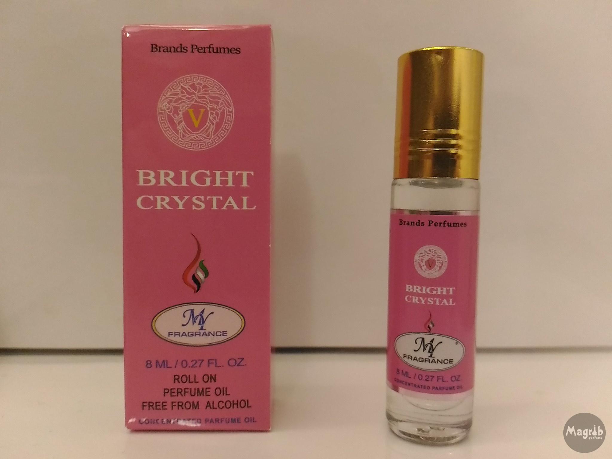 Ravza Versace Bright crystal 8ml - женские масляные духи