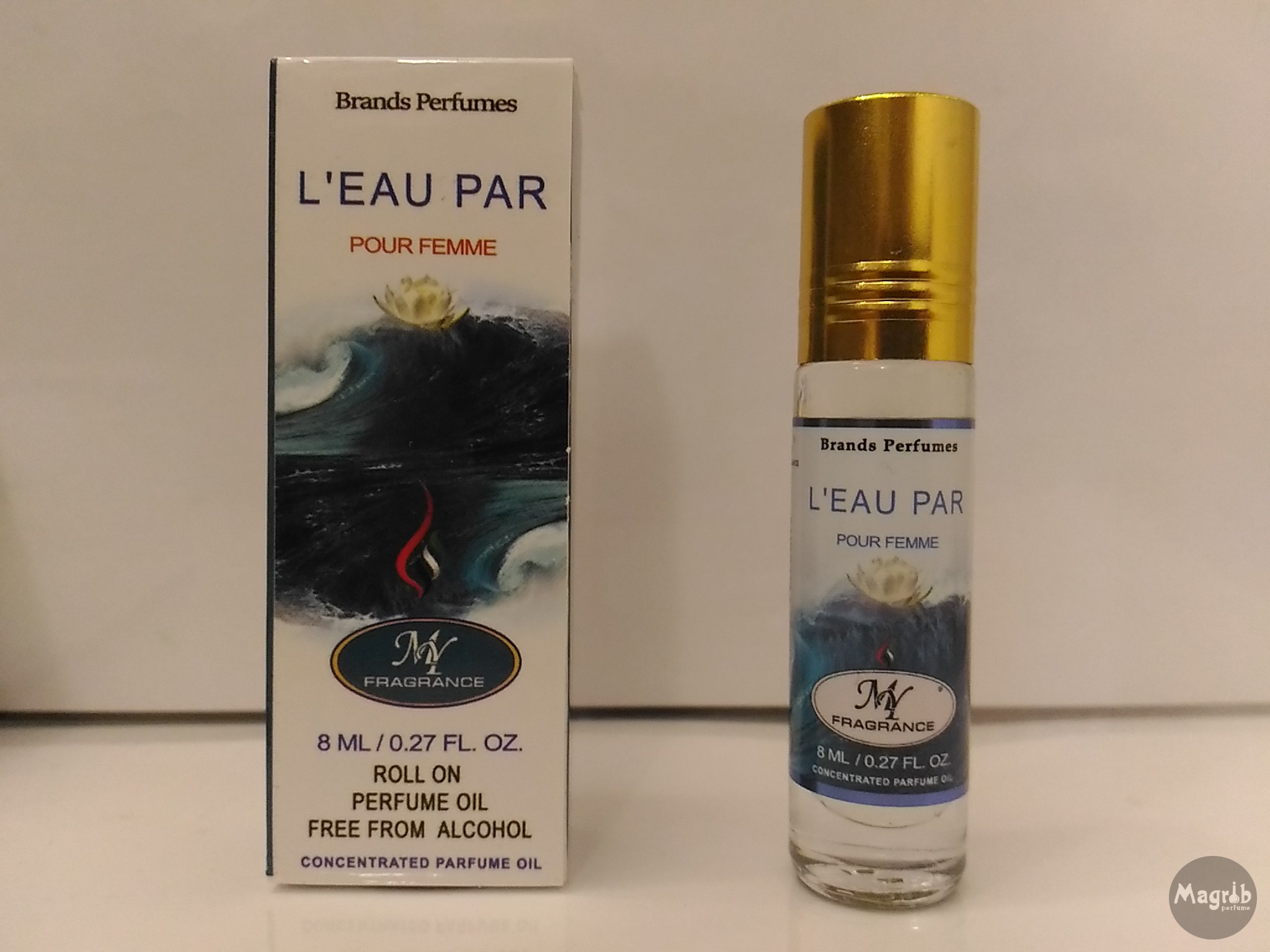 Ravza Kenzo L'eau Par 8ml - унисекс, масляные духи