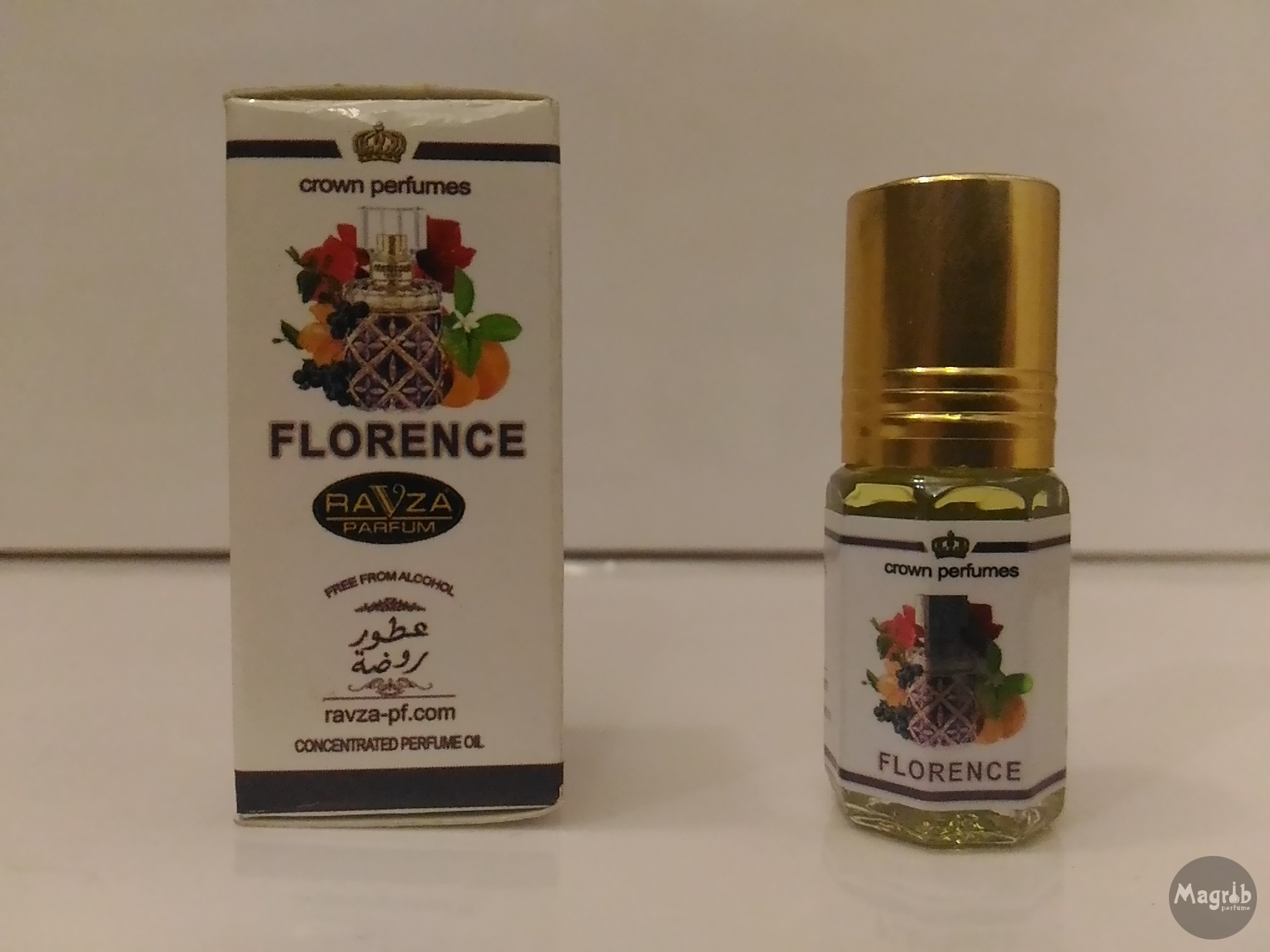 Ravza Florence 3ml - женские масляные духи