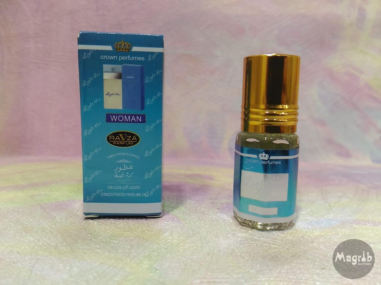 Ravza D&G light blue 3мл - женские масляные духи