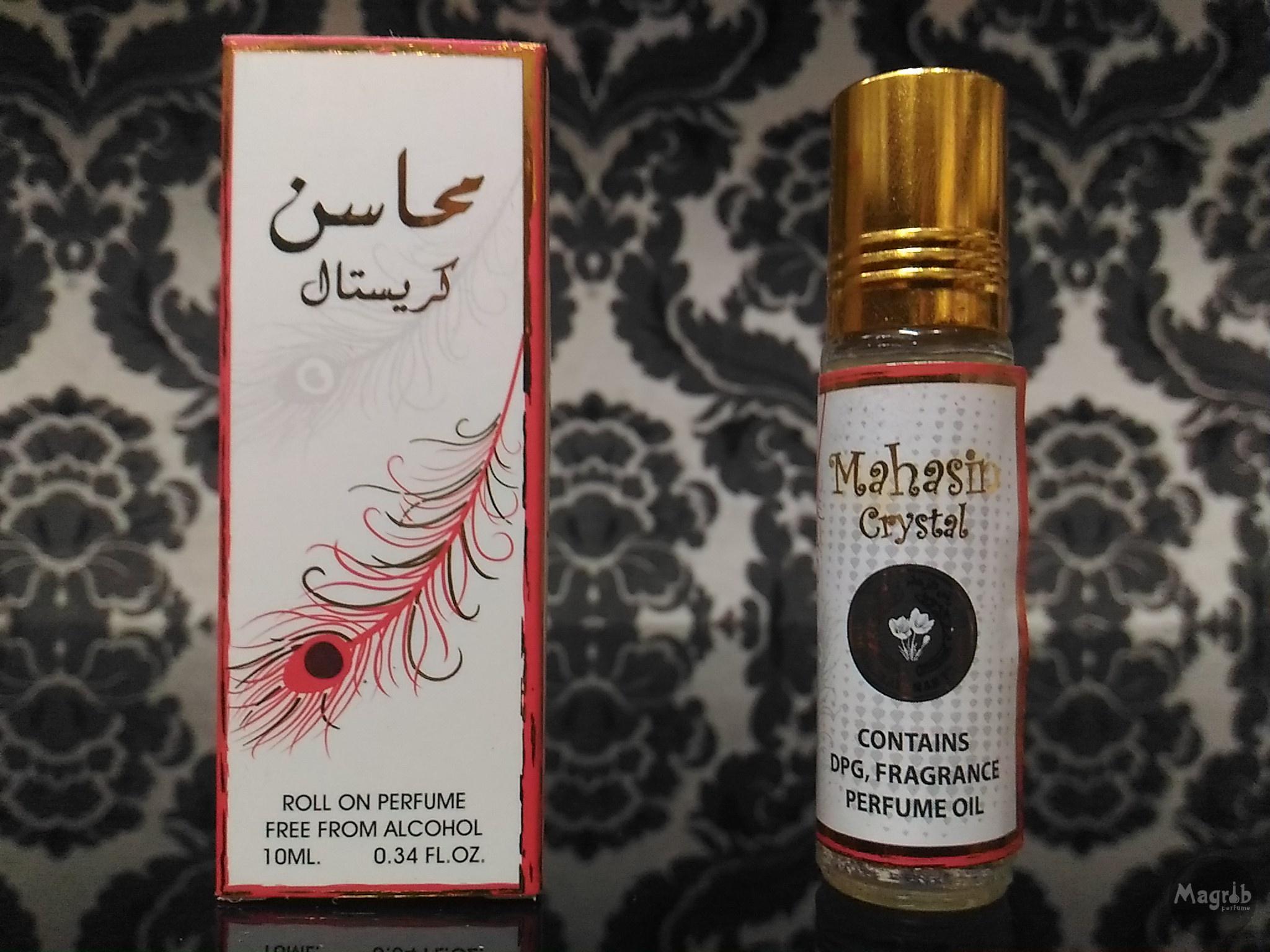 Ard al Zaafaran Mahasin Crystal 10ml - женские масляные духи