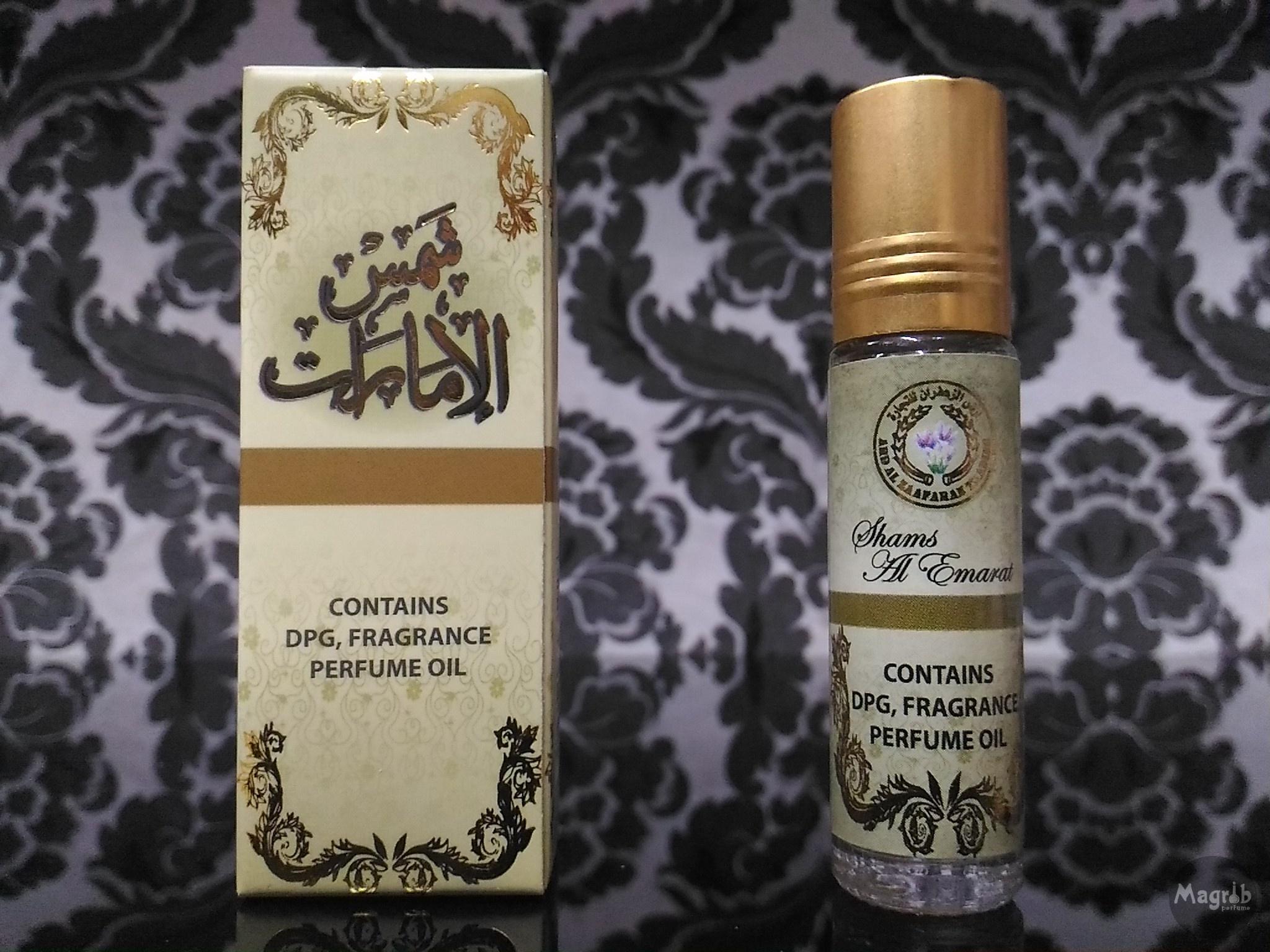 Ard al Zaafaran Shams Al Emarat 10ml - женские масляные духи