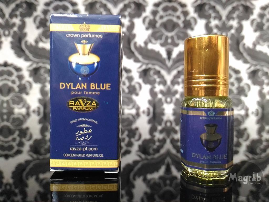 Ravza Versace Dylan blue 3ml - женские масляные духи