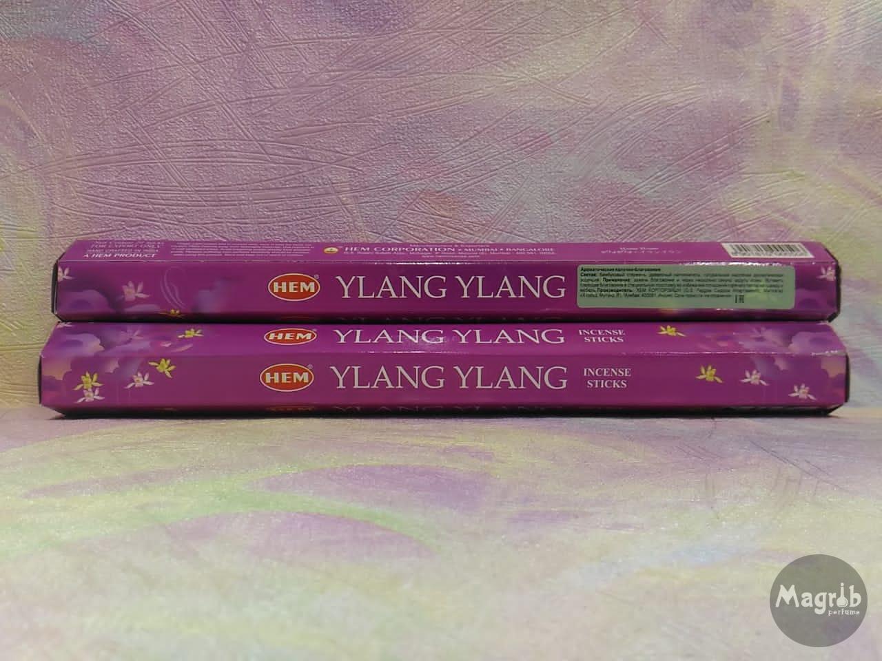 Благовония НЕМ шестигранник 20шт - аромат Ylang-Ylang