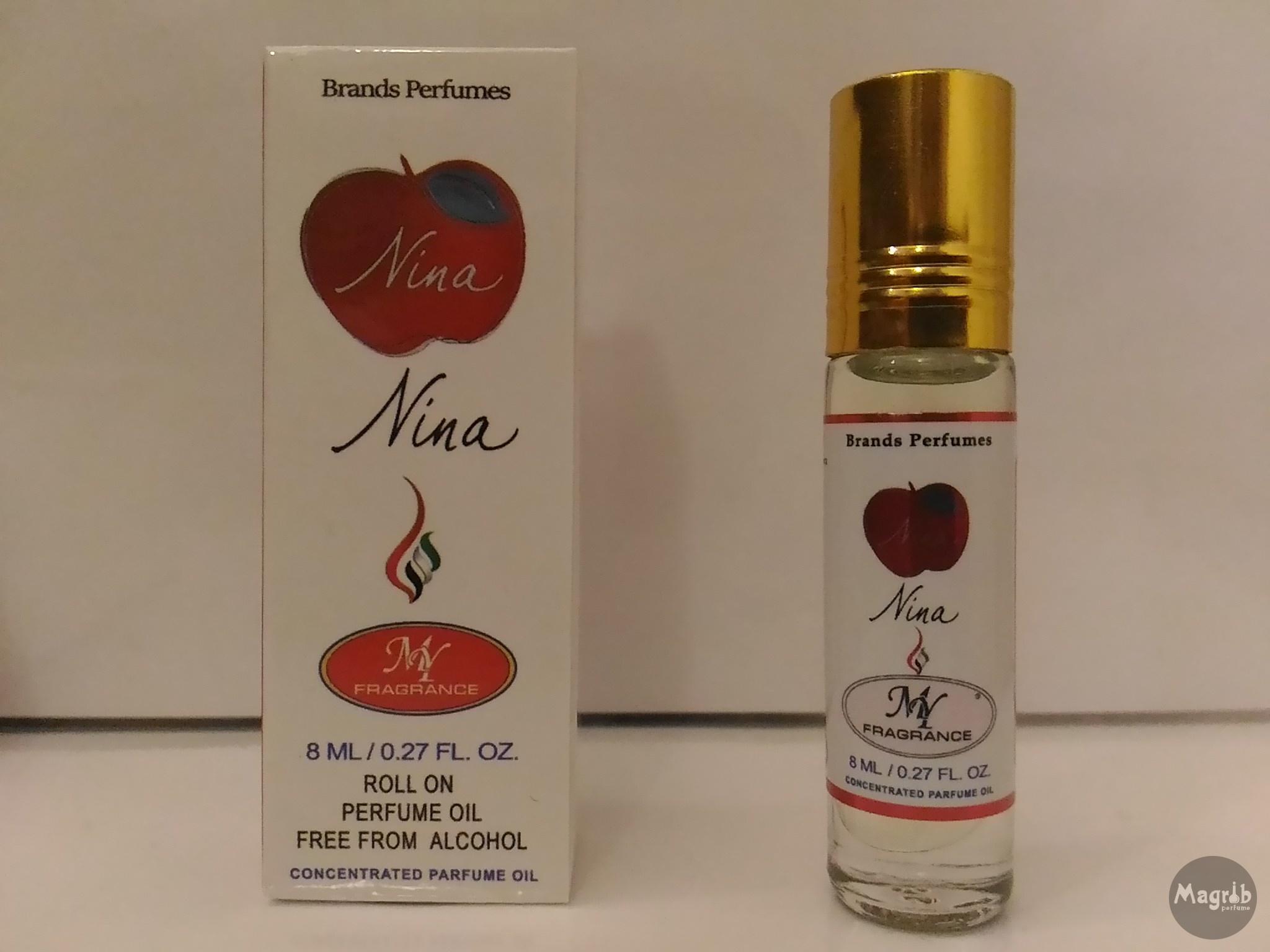 Ravza Nina 8ml - женские масляные духи