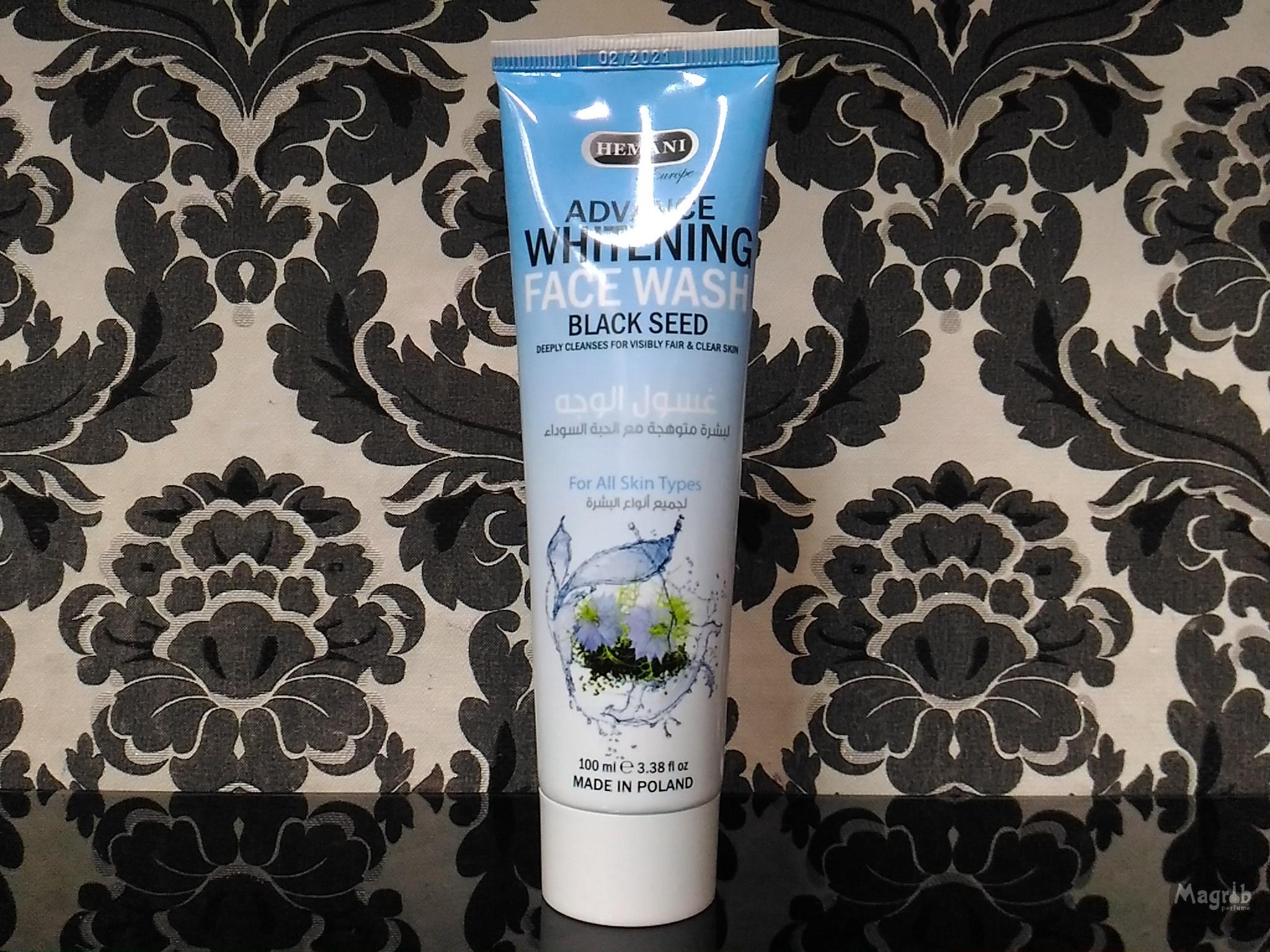 Hemani Face wash black seed 100 ml - умывалочка с чёрным тмином