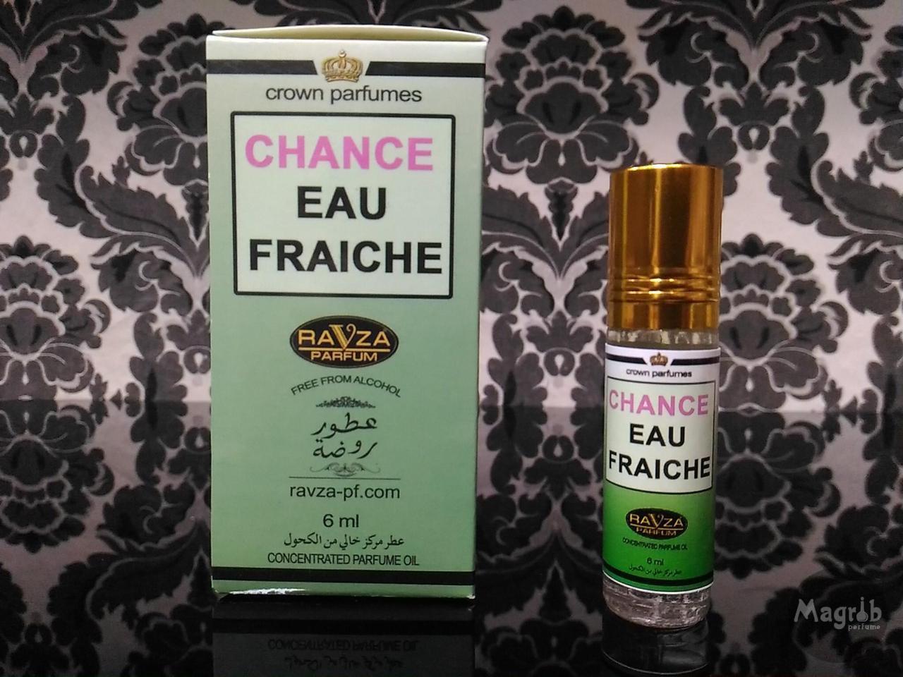 Ravza Chanel eau fraiche 6ml - женские масляные духи