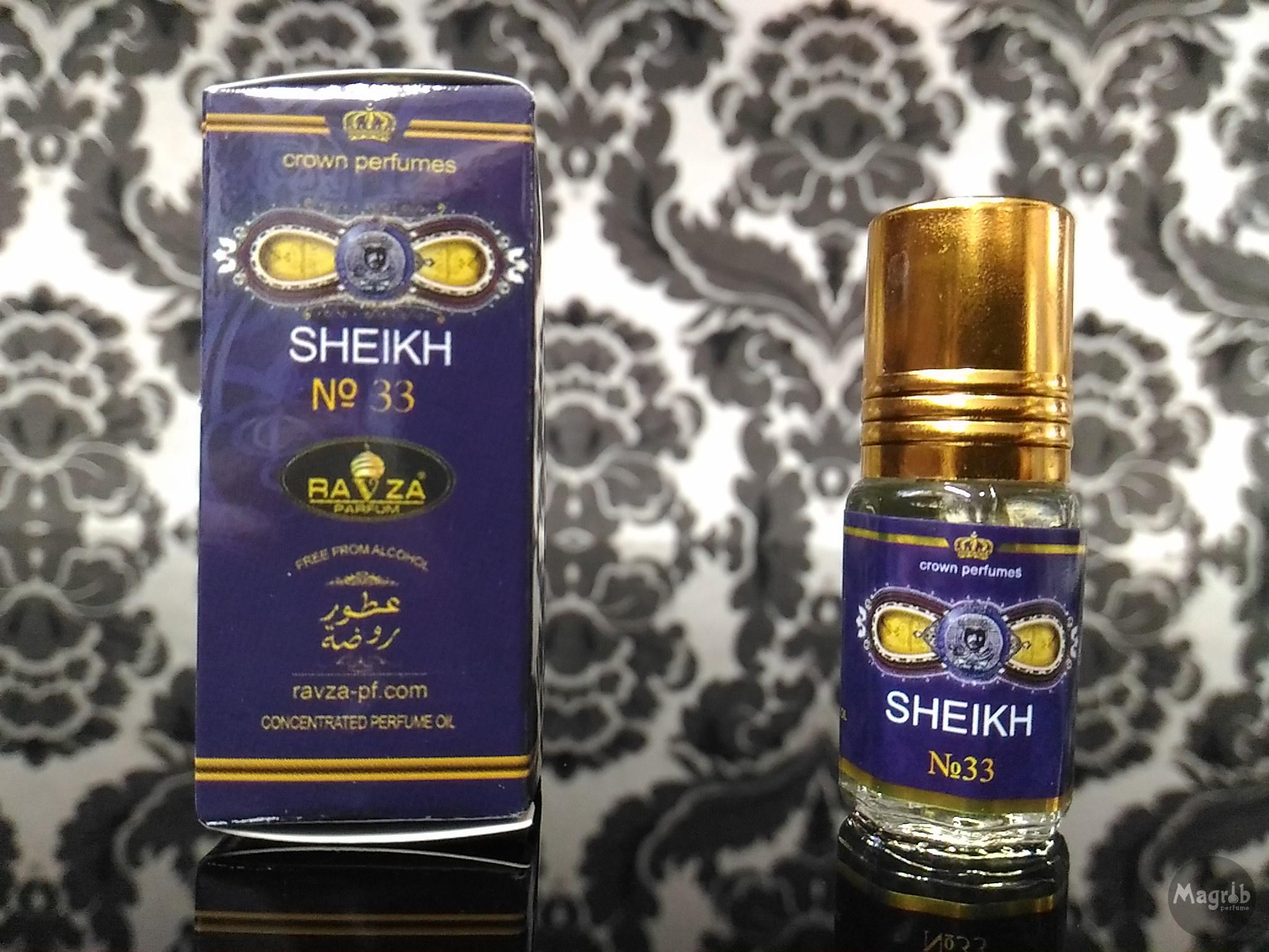Ravza Sheikh №33 3ml - женские масляные духи
