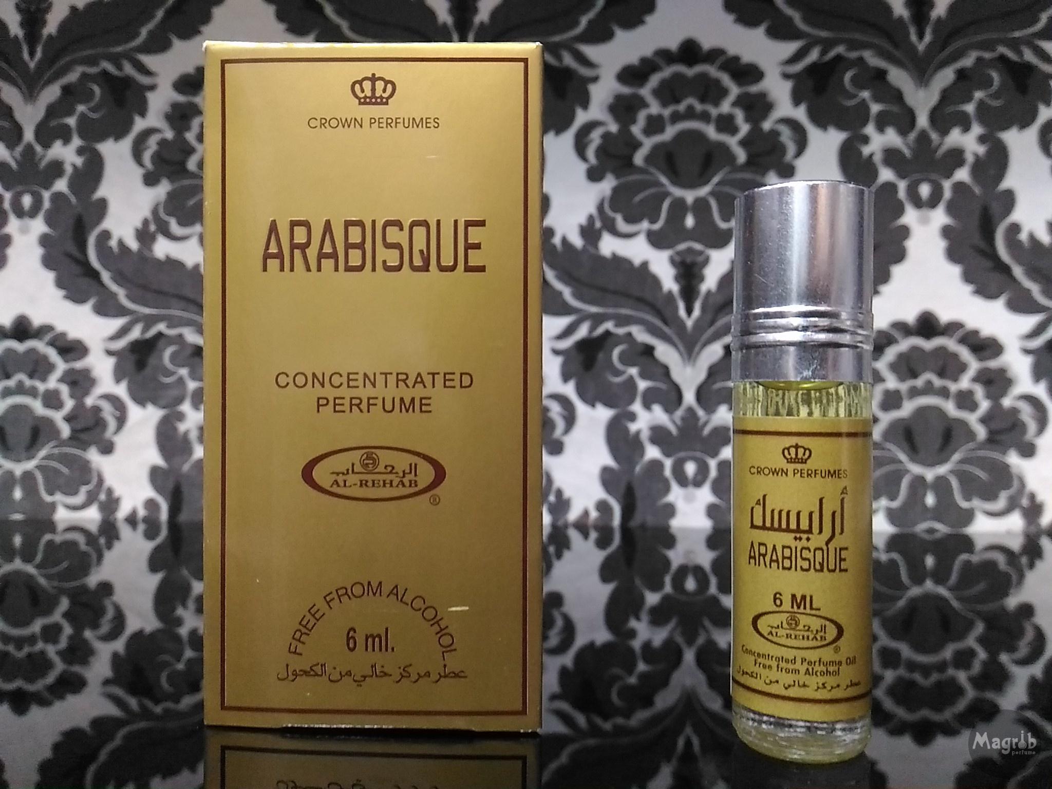 Al-Rehab Arabisque 6ml - женские масляные духи