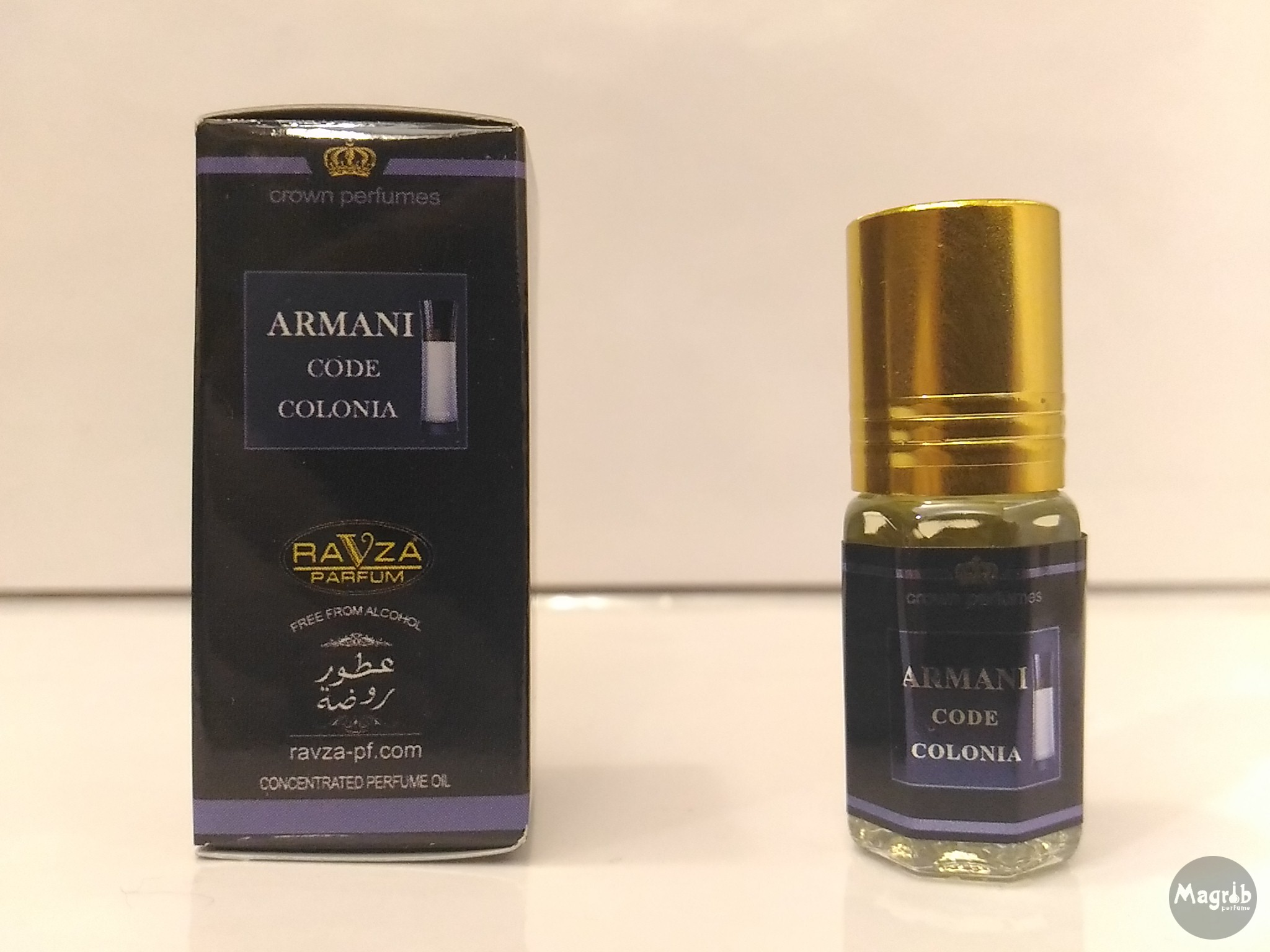 Ravza Armani code Colonia 3ml - мужские масляные духи