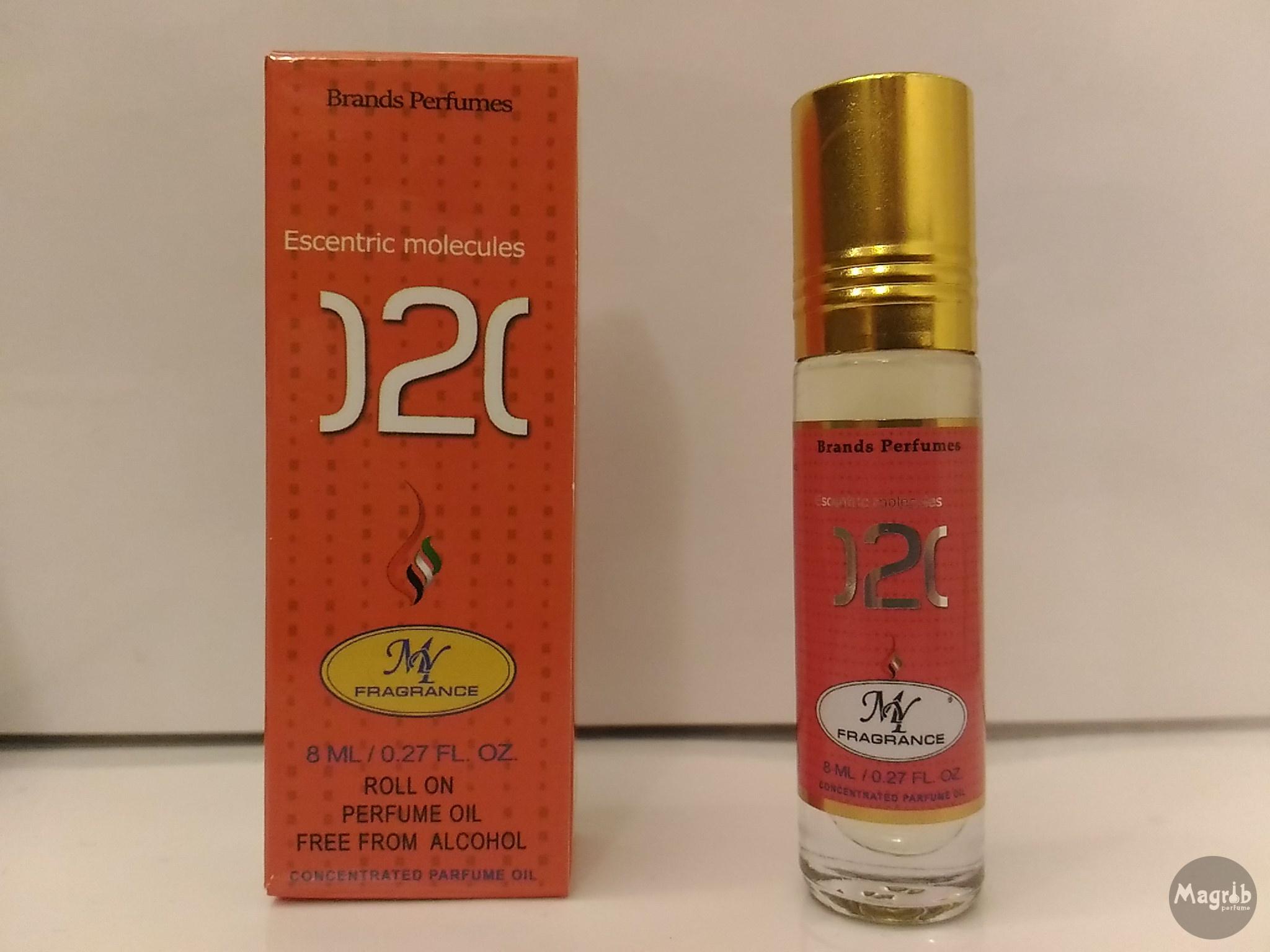 Ravza Molecule 02 8ml - унисекс, масляные духи