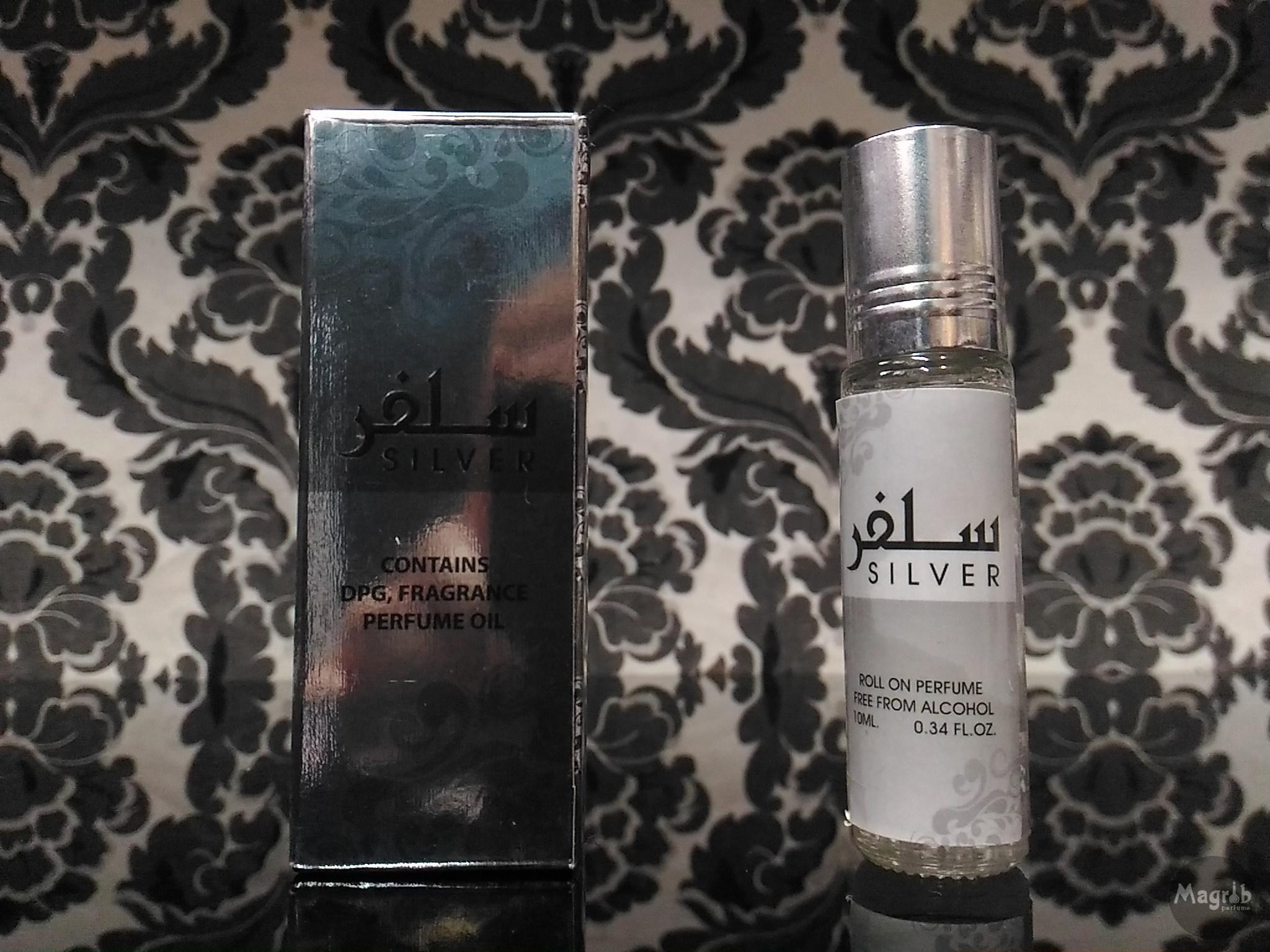 Ard al Zaafaran Silver 10ml - унисекс, масляные духи