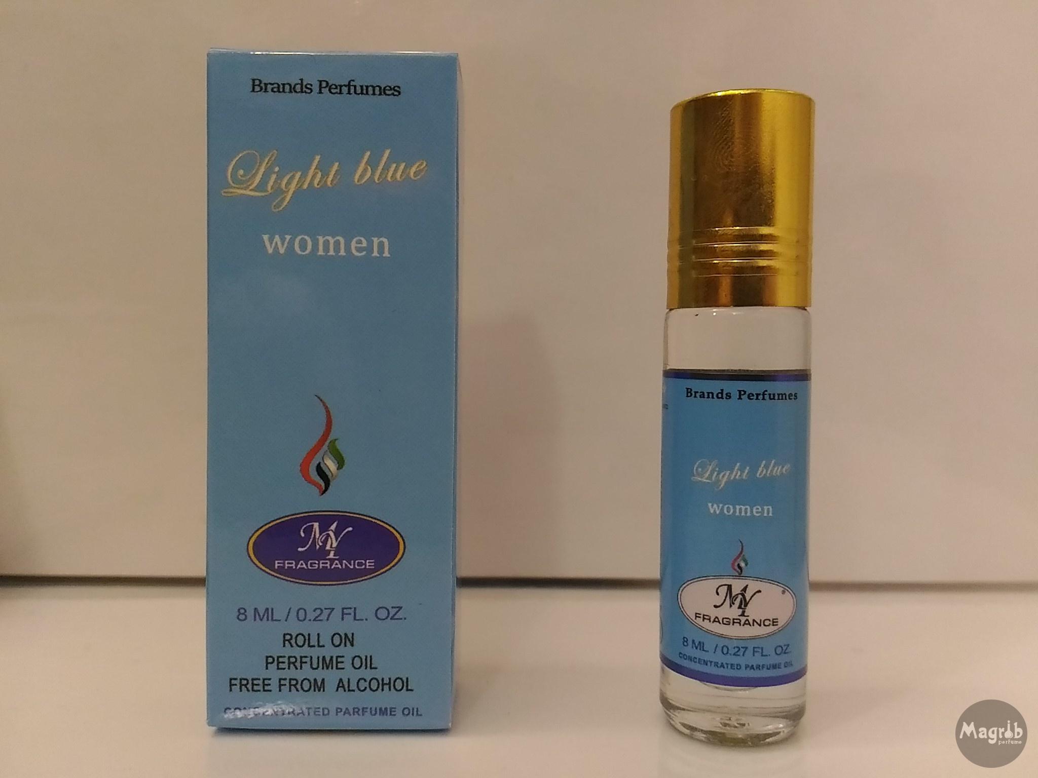 Ravza D&G Light blue 8ml - женские масляные духи