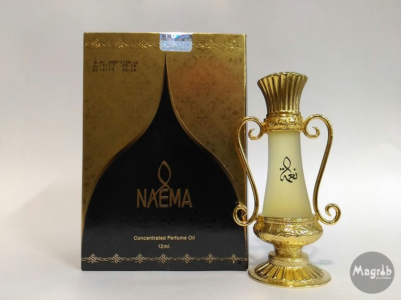 Afnan Naema 12ml - унисекс, масляные духи