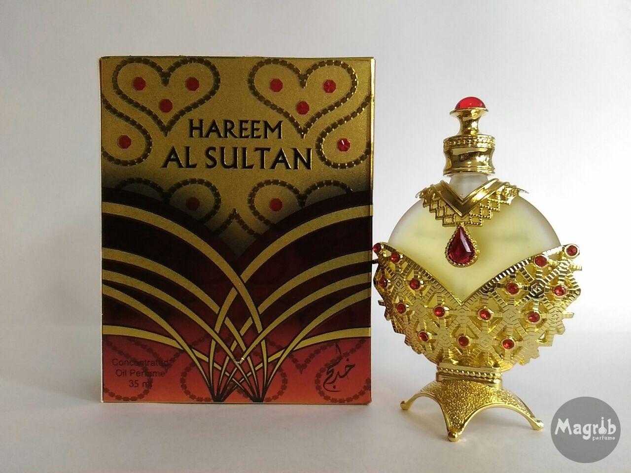 Khadlaj Hareem al Sultan gold 35ml - женские масляные духи
