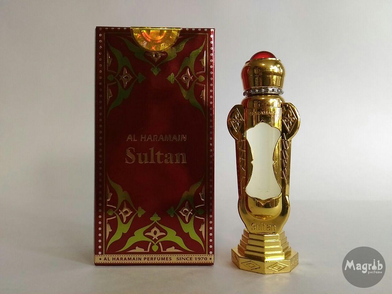 Al-Haramain Sultan 12ml - унисекс, масляные духи