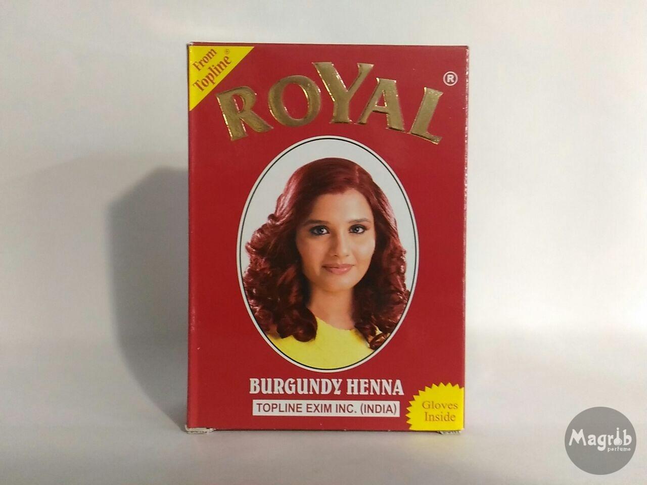 Royal Burgundy Henna 10gr- хна для окраски волос.
