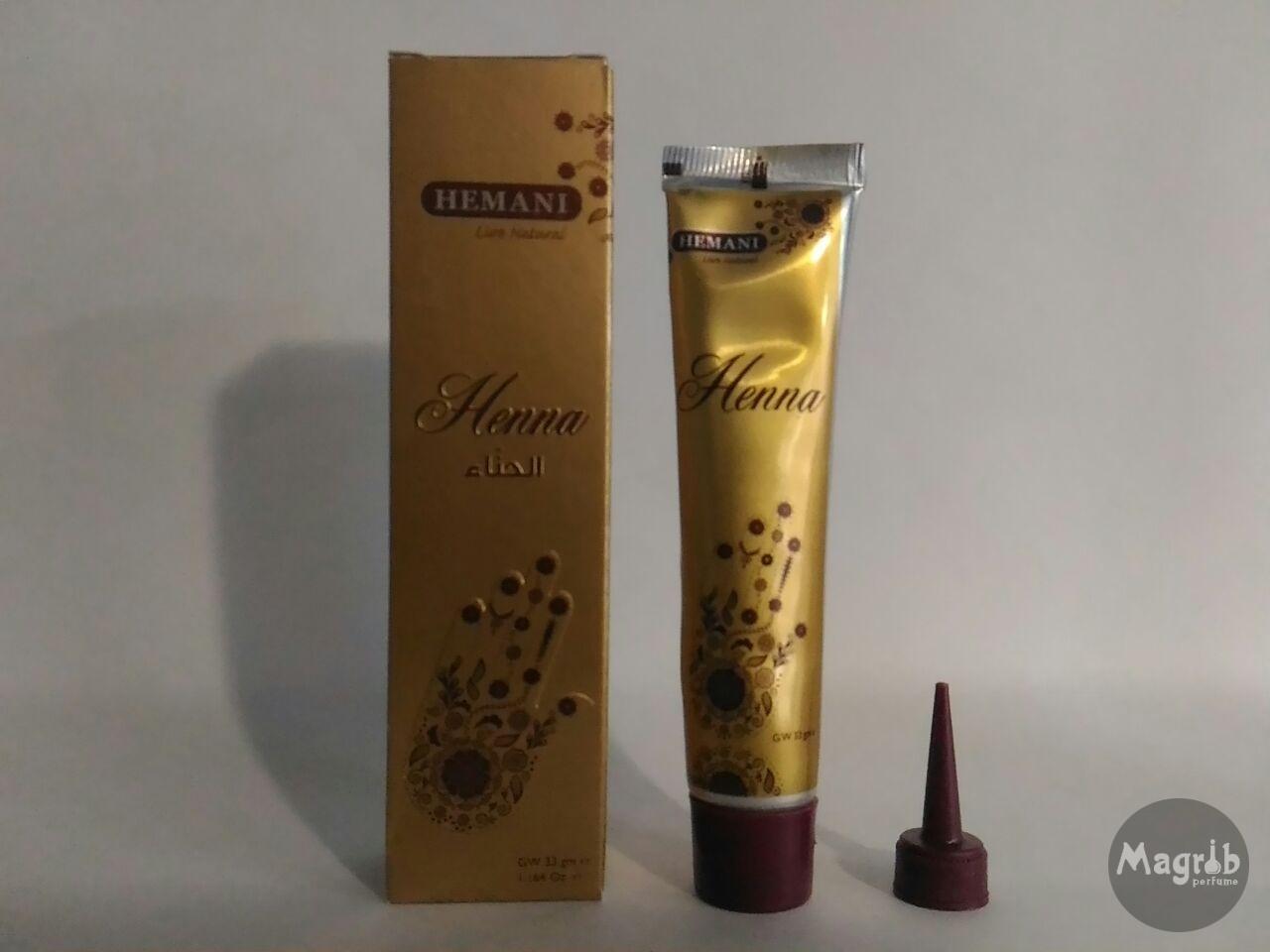 Hemani Henna- для мехенди коричневая.