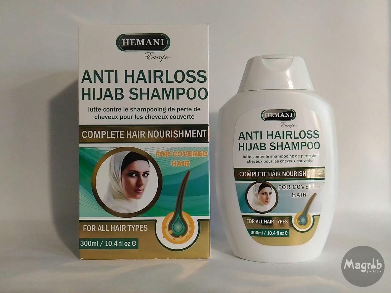 Hemani Anti Hairloss Hijab Shampoo 300ml- шампунь под хиджаб (против выпадения волос).