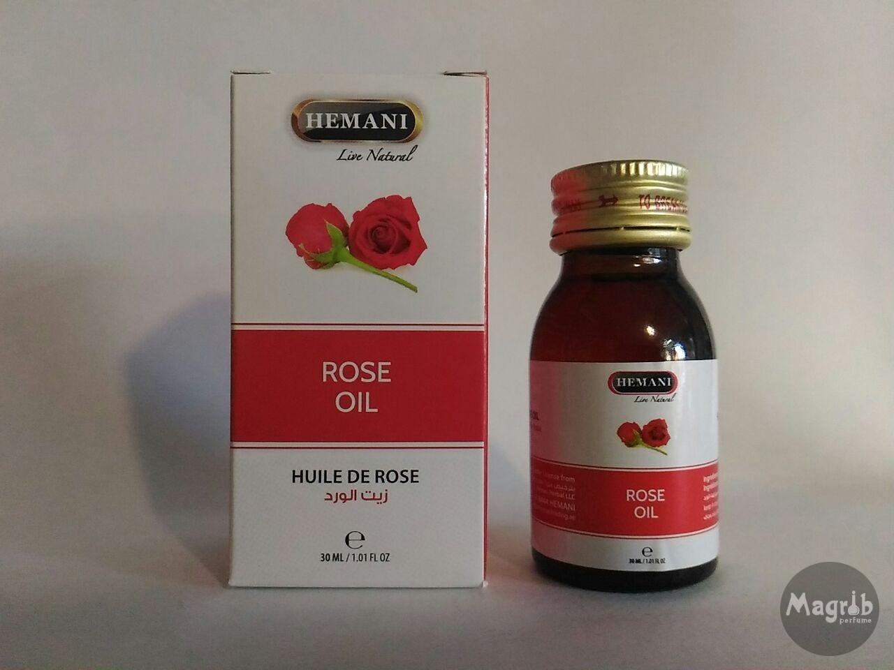 Hemani Rose Oil 30ml- масло розы.