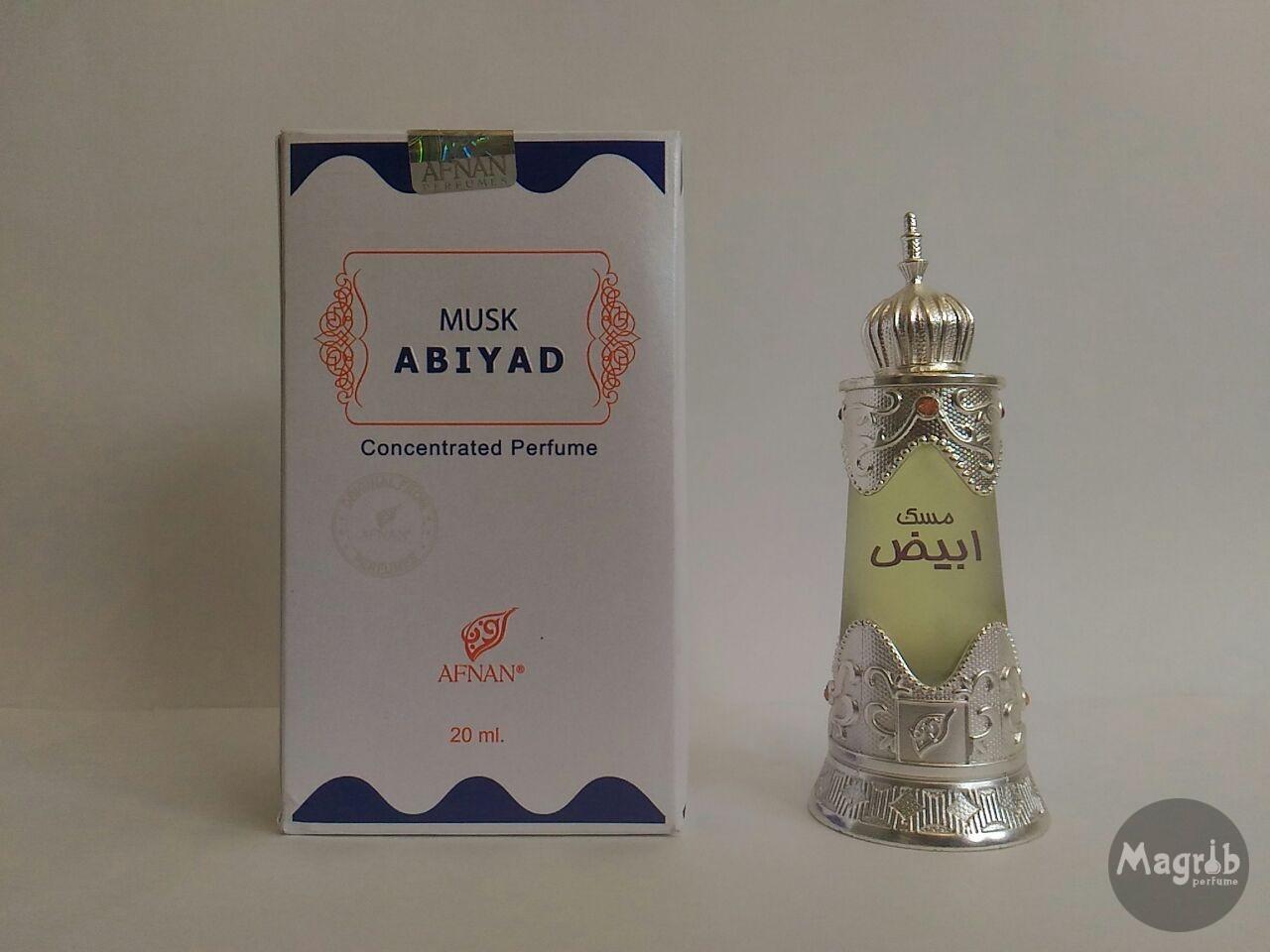 Afnan Musk Abiyad 20ml- масляные духи.