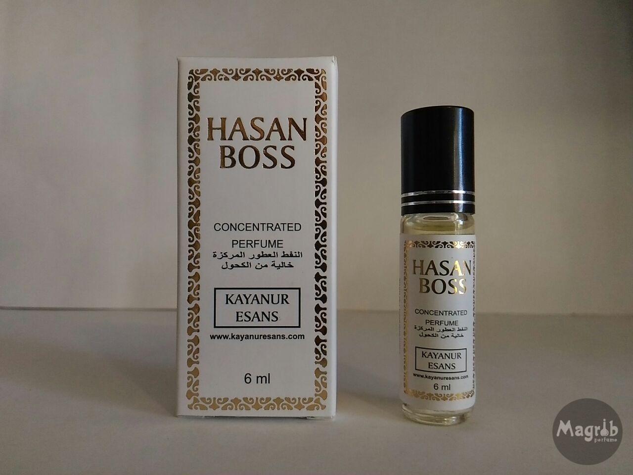 Kayanur Esans Hasan Boss 6ml - мужские масляные духи