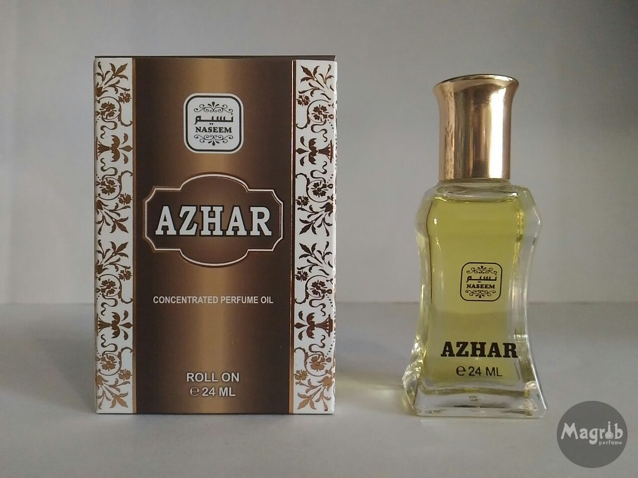 Naseem- Azhar 24ml- масляные духи, роллер.