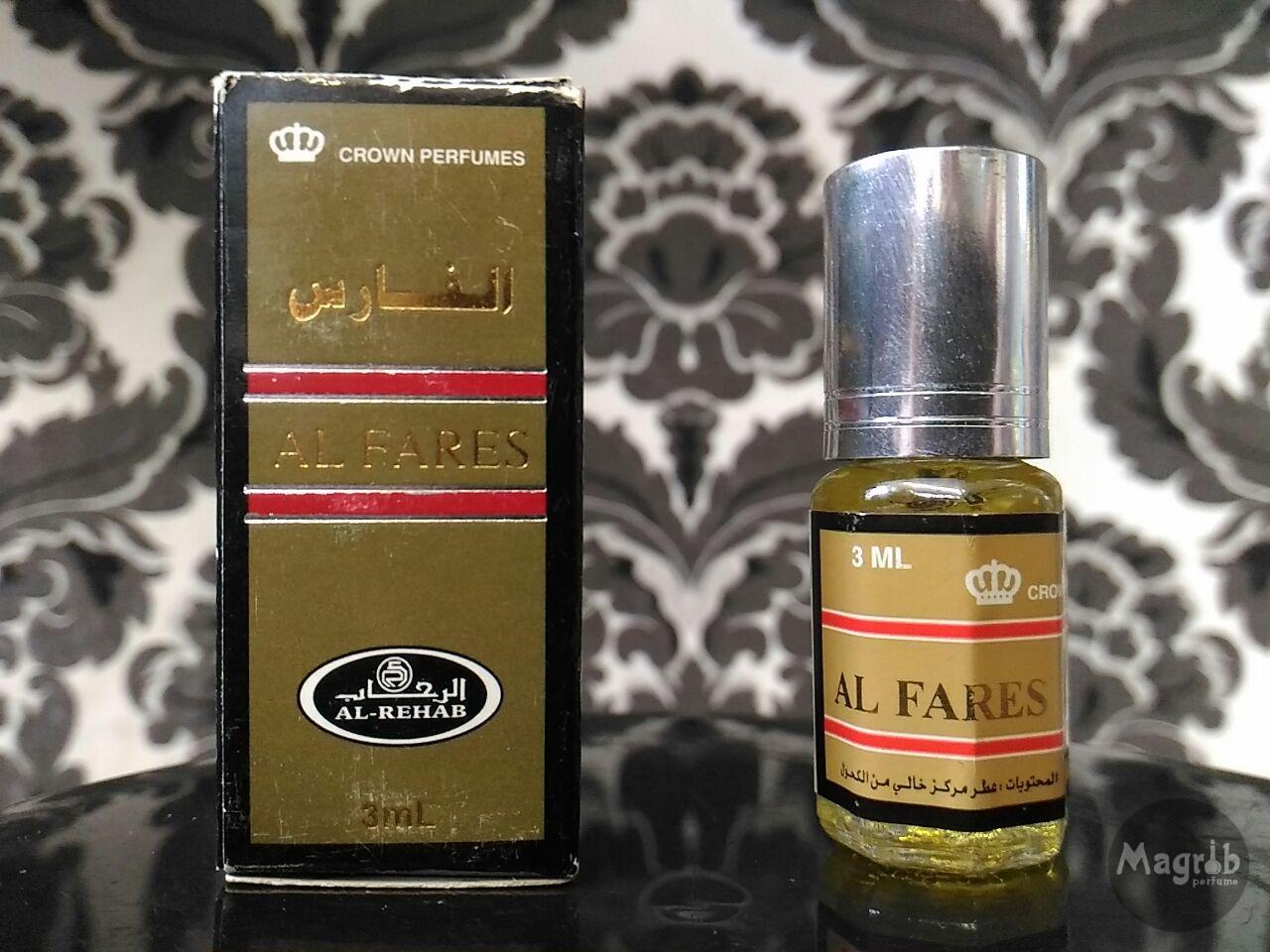Al-Rehab Al-Fares 3ml - мужские масляные духи