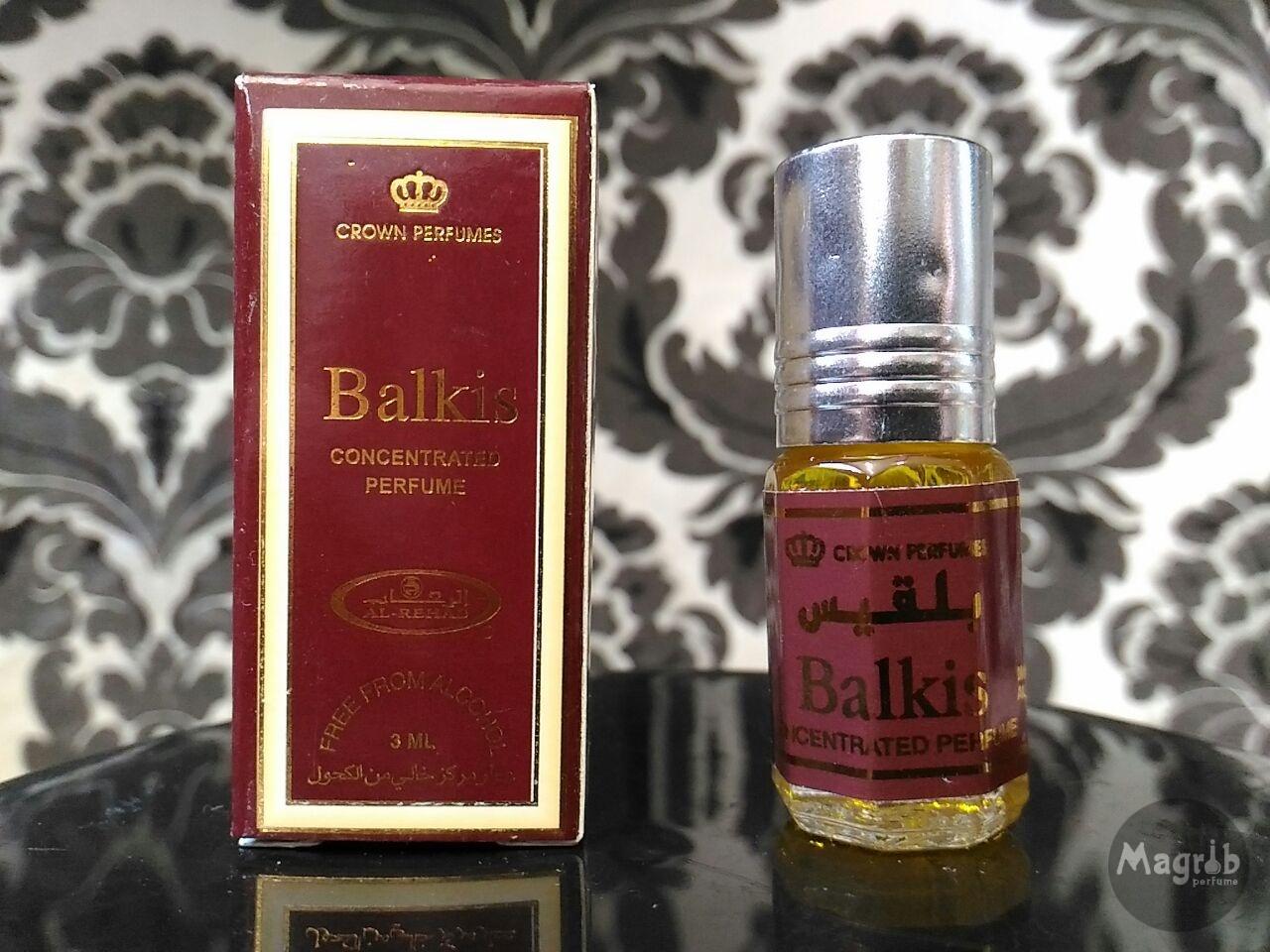 Al-Rehab Balkis 3ml - женские масляные духи