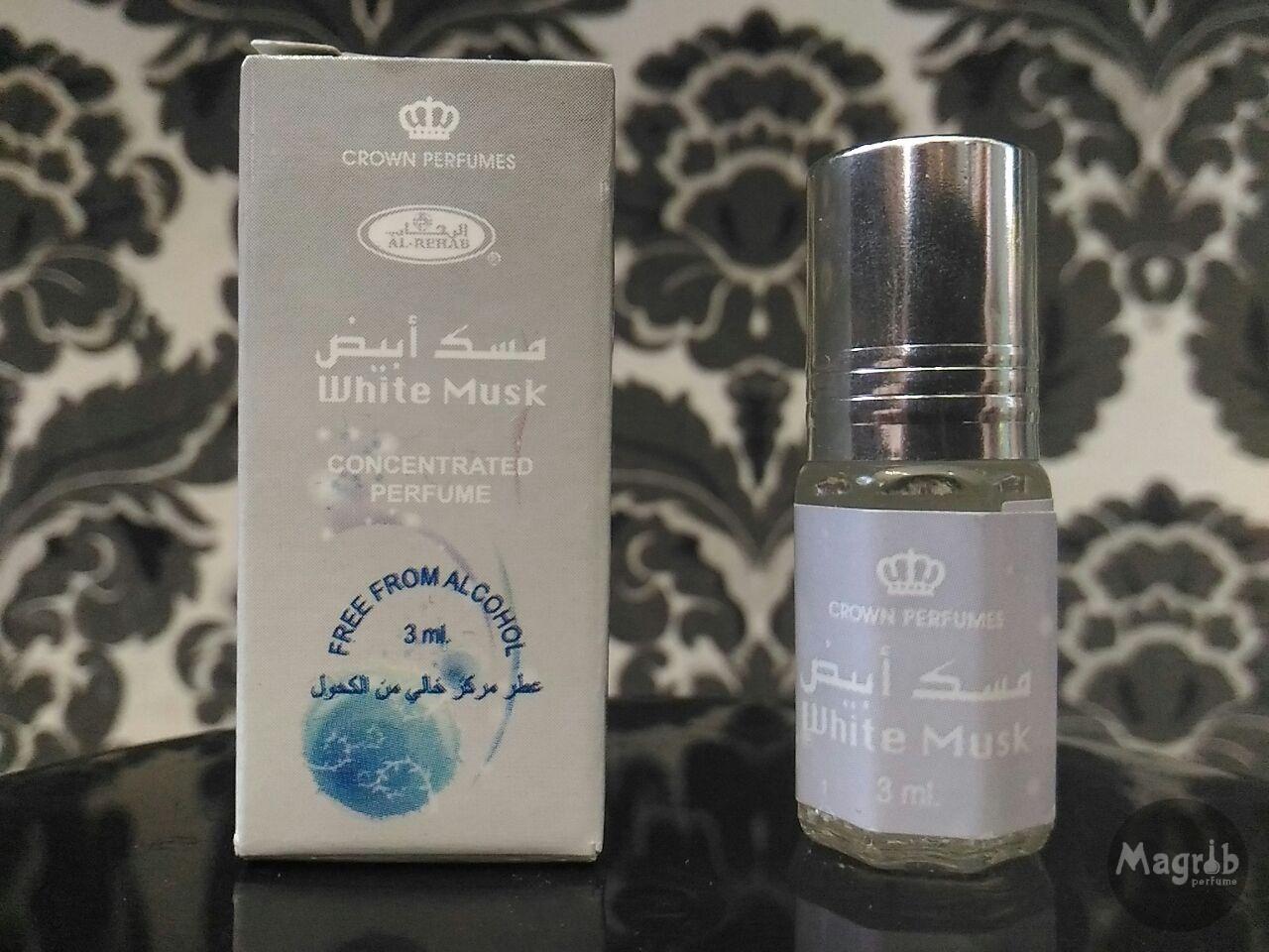 Al Rehab White Musk 3ml Parfum Minyak Wangi