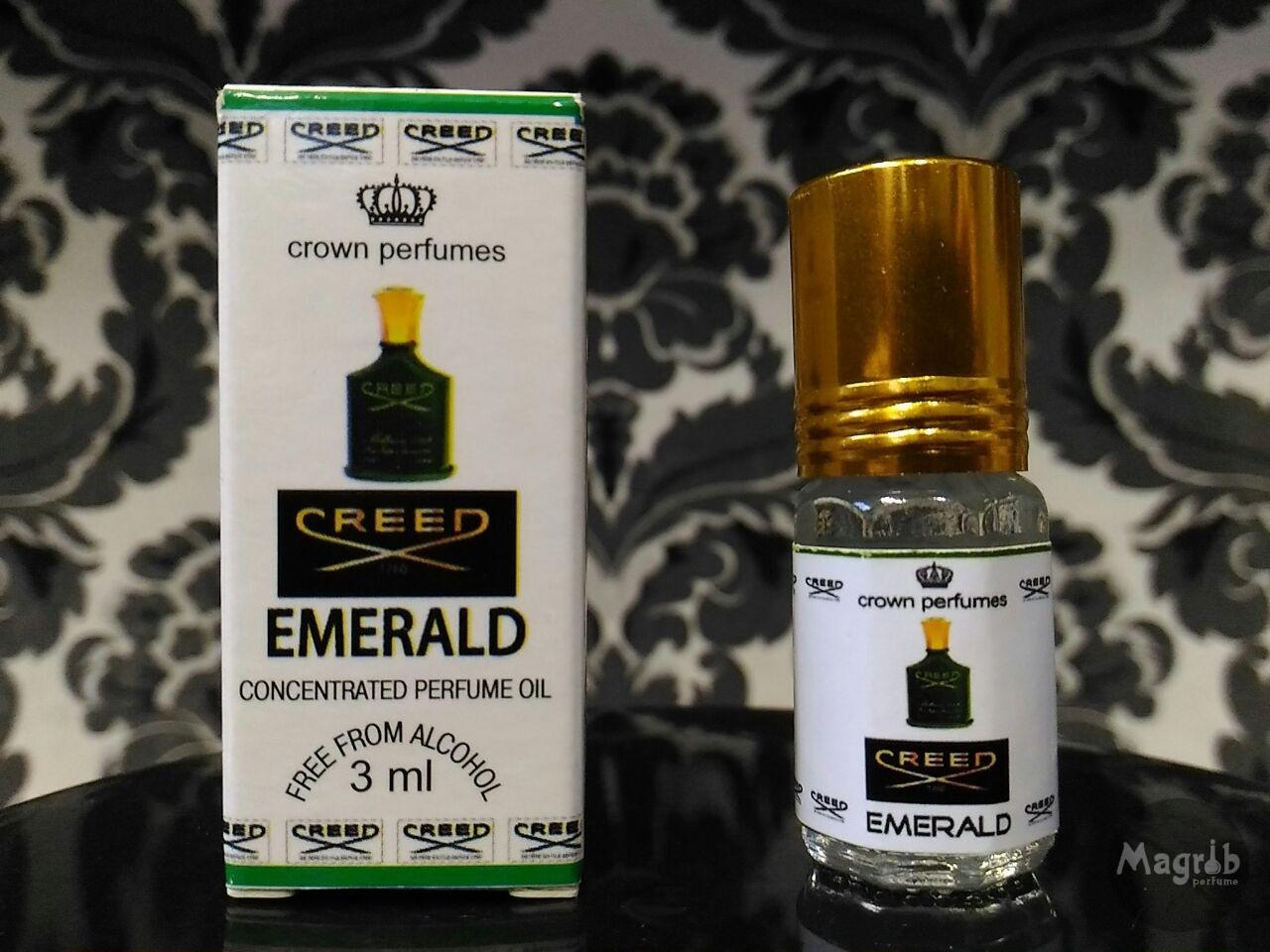 Ravza Creed Emerald - унисекс, масляные духи