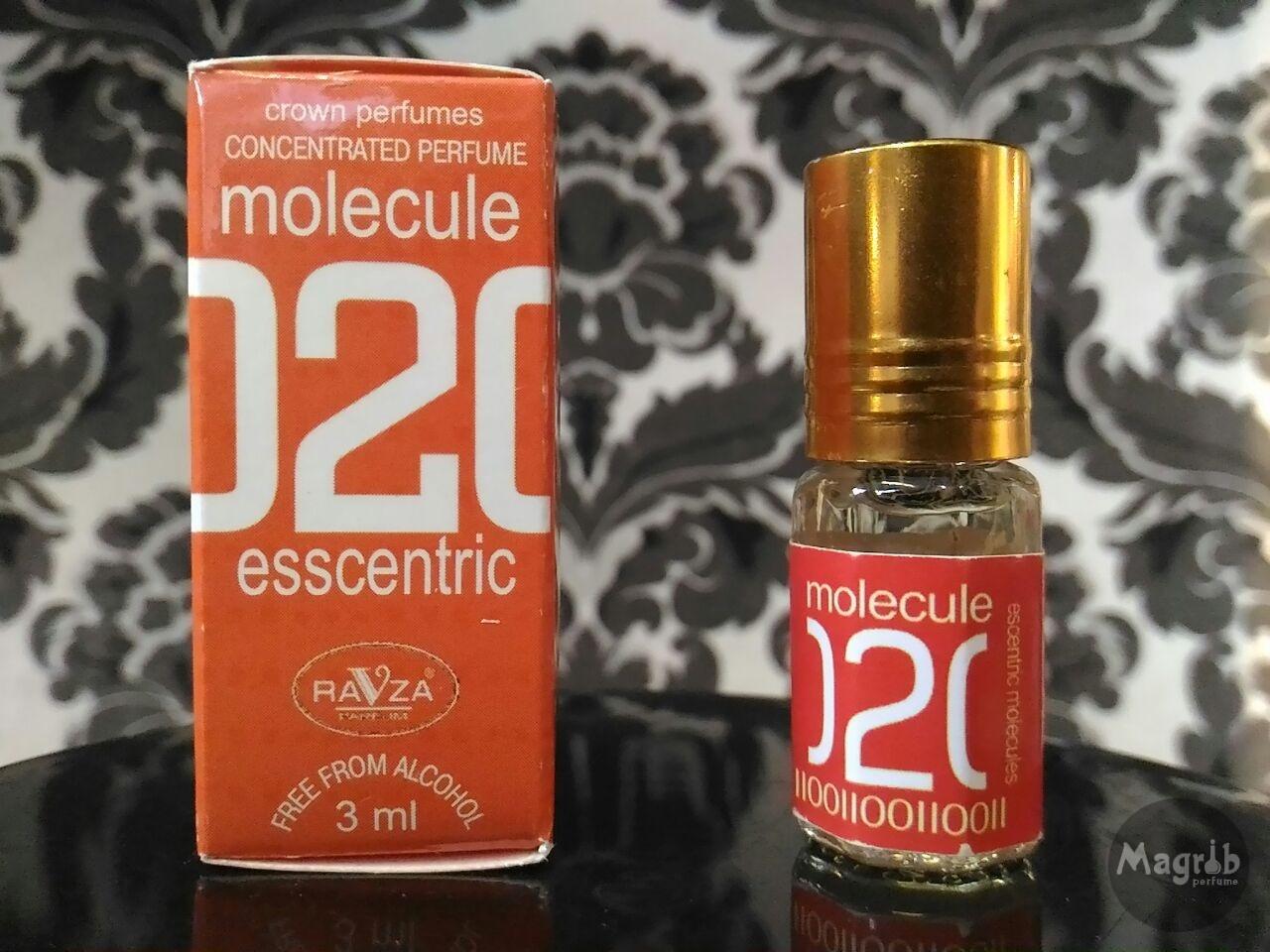 Ravza Molecule 02 3ml - унисекс, масляные духи