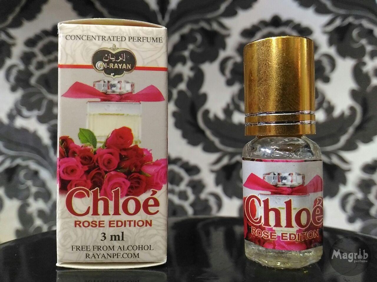 Al-Rayan Chloe Rose edition 3ml - женские масляные духи