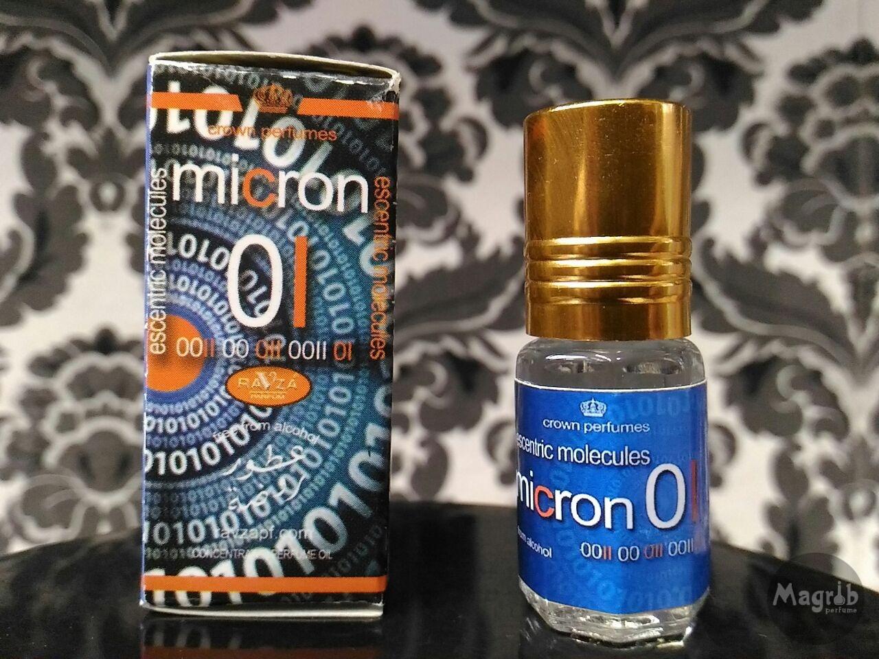 """Molecule Micron 01  3ml""- масляные духи."