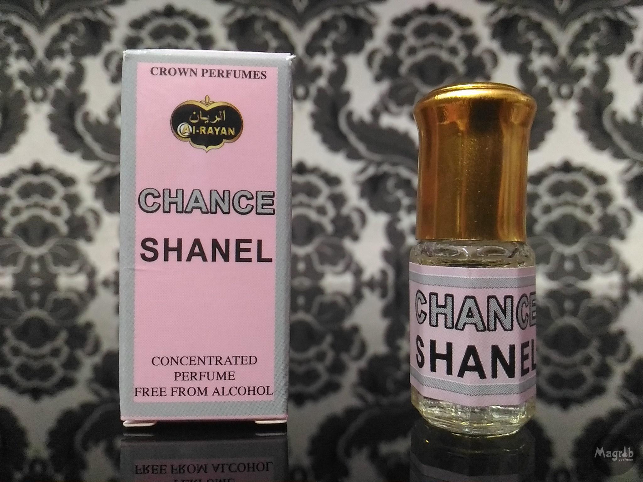 Al-Rayan Shanel Chance 3ml - женские масляные духи